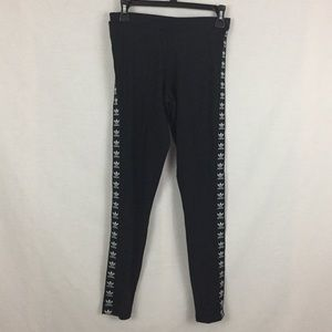 adidas Pants - Black adidas trefoil Leggings